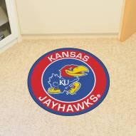 Kansas Jayhawks Rounded Mat