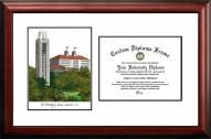Kansas Jayhawks Scholar Diploma Frame