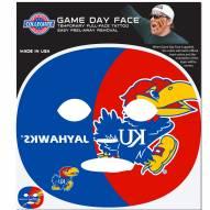 Kansas Jayhawks Set of 4 Game Day Faces