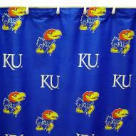 Kansas Jayhawks Shower Curtain