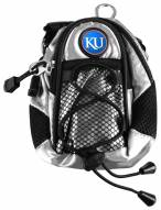 Kansas Jayhawks Silver Mini Day Pack