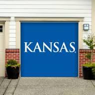 Kansas Jayhawks Single Garage Door Banner