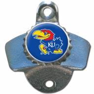Kansas Jayhawks Wall Mounted Bottle Opener