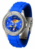 Kansas Jayhawks Sparkle Women's Watch