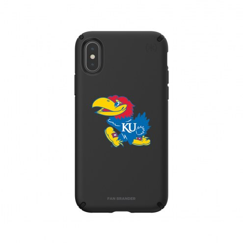 Kansas Jayhawks Speck iPhone X/Xs Presidio Pro Black Case