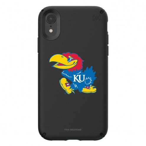 Kansas Jayhawks Speck iPhone XR Presidio Pro Black Case