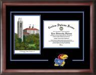 Kansas Jayhawks Spirit Graduate Diploma Frame