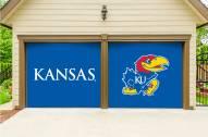 Kansas Jayhawks Split Garage Door Banner