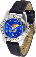 Kansas Jayhawks Sport AnoChrome Women's Watch