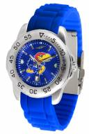 Kansas Jayhawks Sport Silicone Men's Watch
