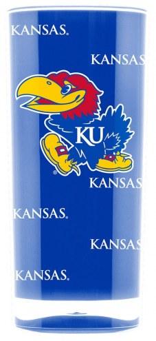 Kansas Jayhawks Square Tumbler
