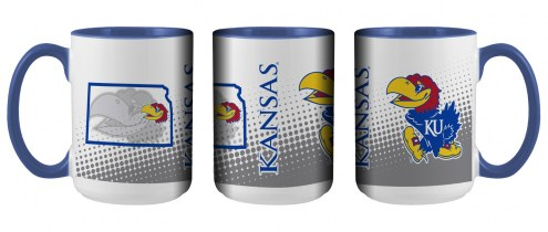 Kansas Jayhawks State of Mind Coffee Mug