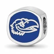 Kansas Jayhawks Sterling Silver Logo Bead