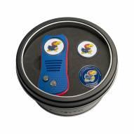 Kansas Jayhawks Switchfix Golf Divot Tool & Ball Markers