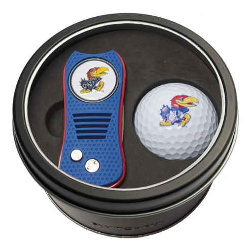 Kansas Jayhawks Switchfix Golf Divot Tool & Ball