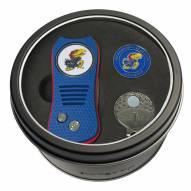 Kansas Jayhawks Switchfix Golf Divot Tool, Hat Clip, & Ball Marker
