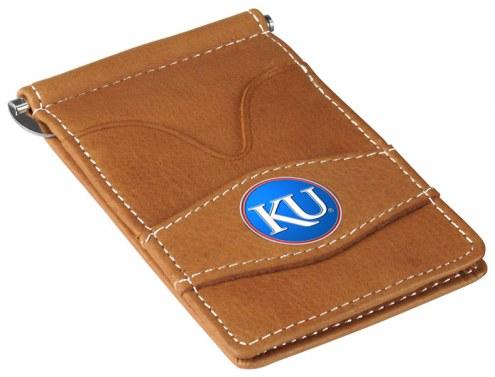 Kansas Jayhawks Tan Player's Wallet