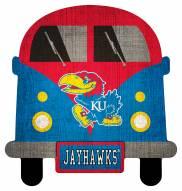 Kansas Jayhawks Team Bus Sign