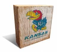 Kansas Jayhawks Team Logo Block