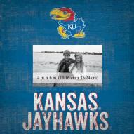 "Kansas Jayhawks Team Name 10"" x 10"" Picture Frame"