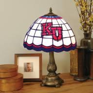 Kansas Jayhawks Tiffany Table Lamp