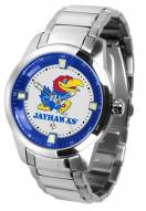 Kansas Jayhawks Titan Steel Men's Watch
