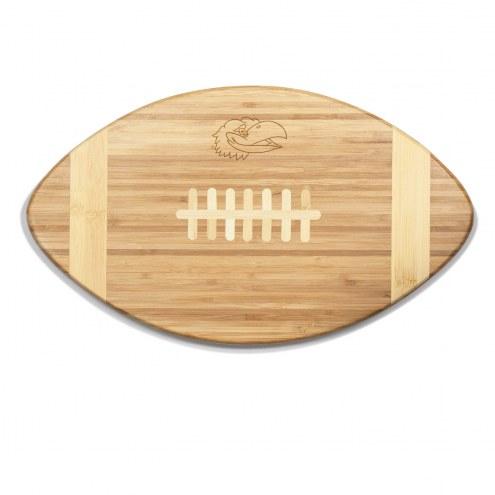 Kansas Jayhawks Touchdown Cutting Board