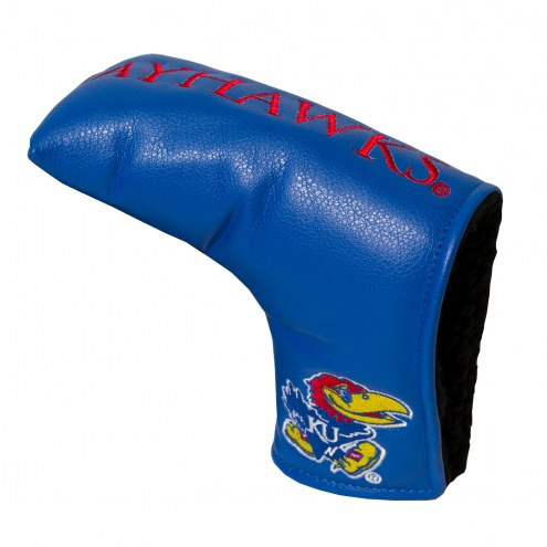 Kansas Jayhawks Vintage Golf Blade Putter Cover