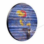 Kansas Jayhawks Weathered Design Hook & Ring Game