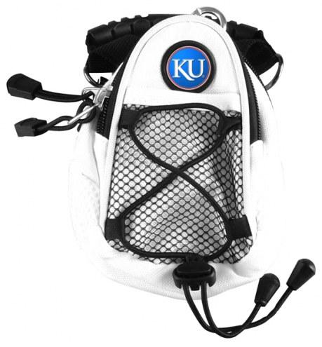 Kansas Jayhawks White Mini Day Pack