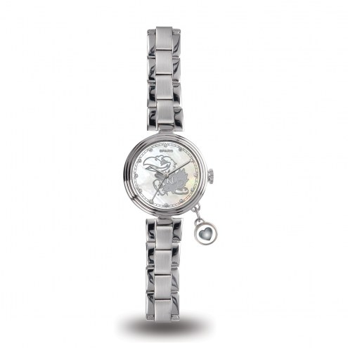 Kansas Jayhawks Women's Charm Watch
