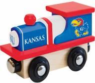 Kansas Jayhawks Wood Toy Train
