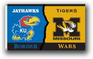Kansas / Missouri Premium Rivalry House Divided 3' x 5' Flag