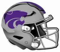"Kansas State Wildcats 12"" Helmet Sign"