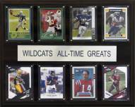 """Kansas State Wildcats 12"""" x 15"""" All-Time Greats Plaque"""