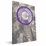 "Kansas State Wildcats 16"" x 24"" Scrapbook Canvas Print"