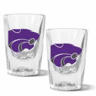 Kansas State Wildcats 2 oz. Prism Shot Glass Set