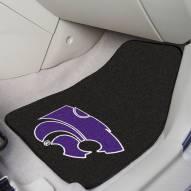 Kansas State Wildcats 2-Piece Carpet Car Mats