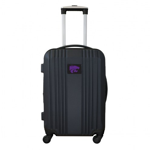 """Kansas State Wildcats 21"""" Hardcase Luggage Carry-on Spinner"""