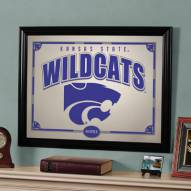 "Kansas State Wildcats 23"" x 18"" Mirror"