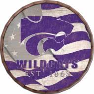 "Kansas State Wildcats 24"" Flag Barrel Top"