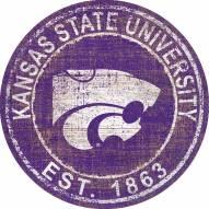 "Kansas State Wildcats 24"" Heritage Logo Round Sign"