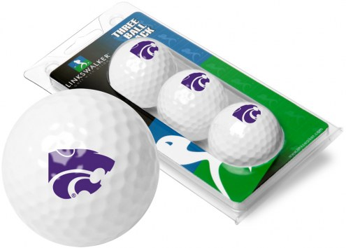Kansas State Wildcats 3 Golf Ball Sleeve