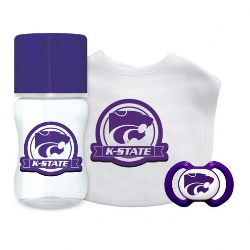 Kansas State Wildcats 3-Piece Baby Gift Set