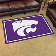 Kansas State Wildcats 4' x 6' Area Rug