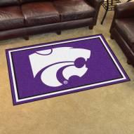 Kansas State Wildcats 4' x 6' Area Rug