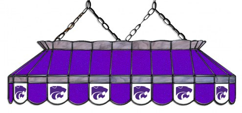 """Kansas State Wildcats 40"""" Stained Glass Pool Table Light"""