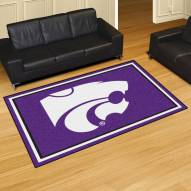 Kansas State Wildcats 5' x 8' Area Rug