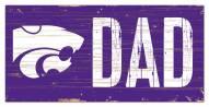 "Kansas State Wildcats 6"" x 12"" Dad Sign"