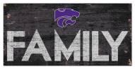 "Kansas State Wildcats 6"" x 12"" Family Sign"
